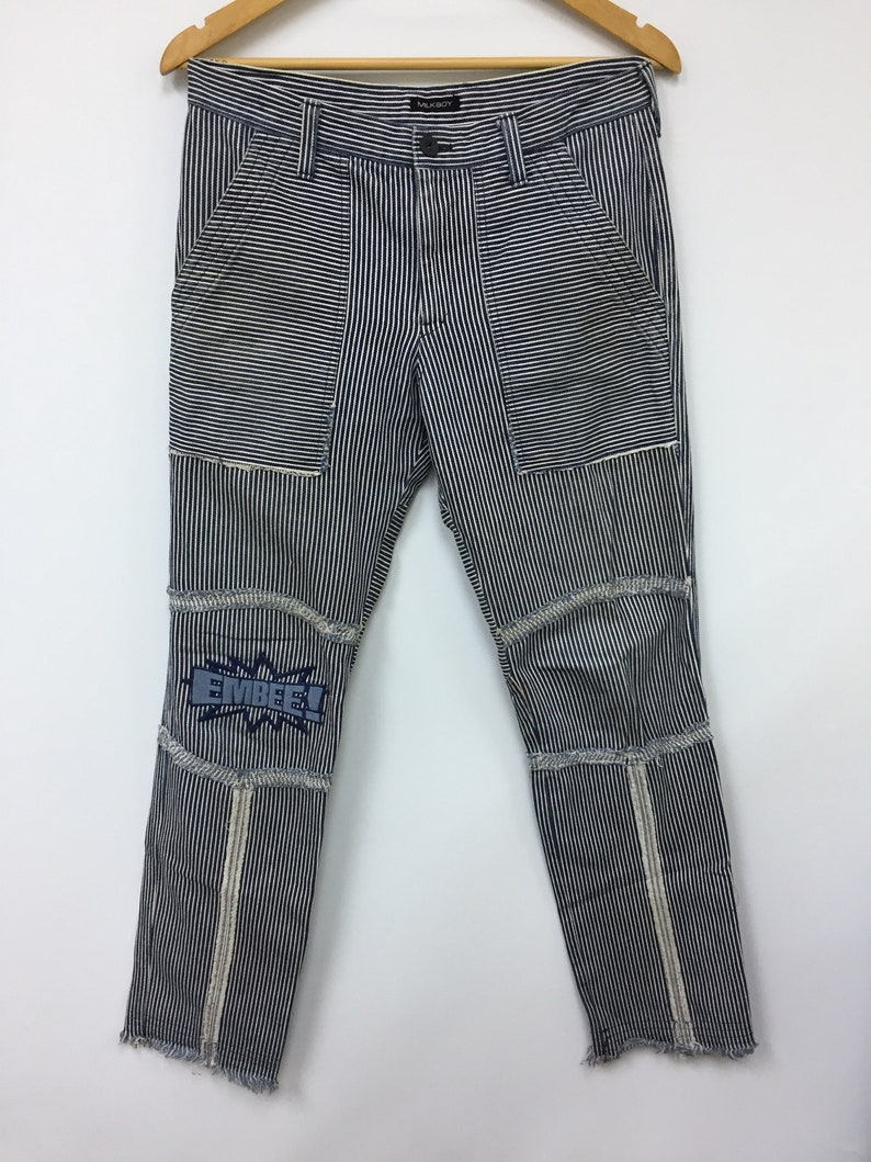 bab9237005a9 MILK BOY embee Hickory denim Japanese Brands comme des