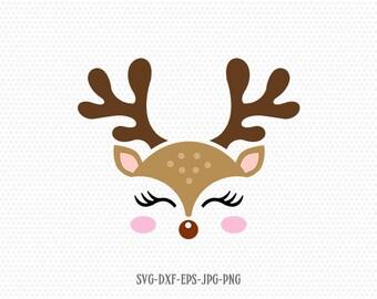 Navidad Reno silueta adornos x 25 tarjetas colección de recortes Craft