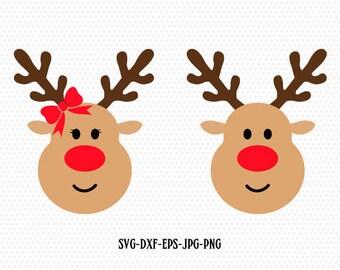 reindeer etsy