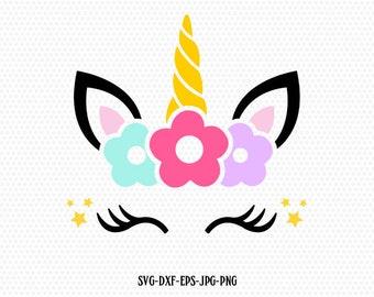 image about Unicorn Eyelashes Printable named Unicorn eyelashes Etsy