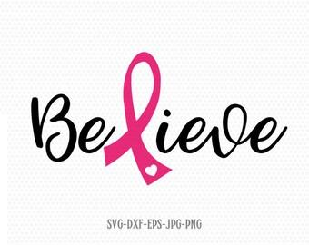 Breast Cancer Ribbon Etsy