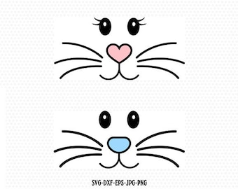 image relating to Bunny Face Printable called easter bunny encounter template -