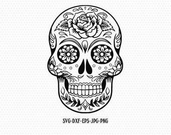 Sugar Skulls Etsy