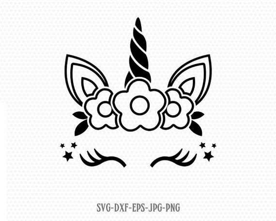 Unicorn svg unicorn eyelashes unicorn birthday svg Magical ...