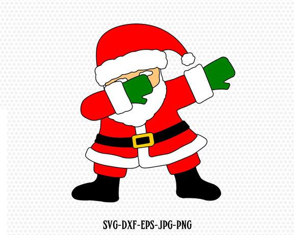 Santa Svg Dabbing Svg File Dabbing Svg Dab Svg Dabbing