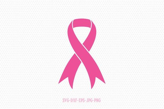 Cancer Ribbon Svg Cancer Svg Breast Cancer Ribbon Svg Etsy