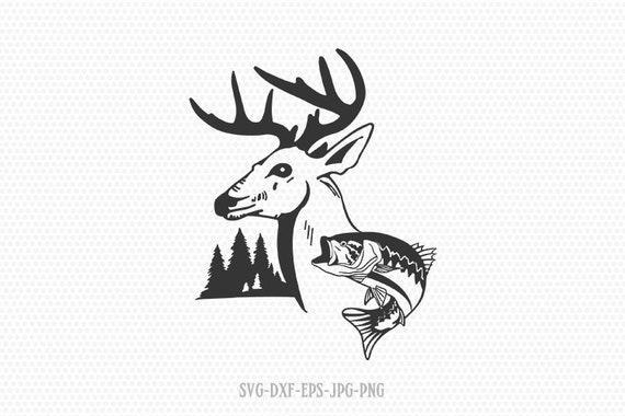 Download Fishing Hunting Svg Bass Svg Hunting Svg Fishing Clipart Etsy