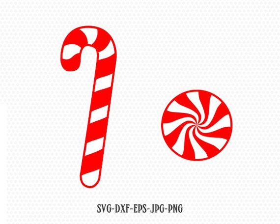 Holiday Candy Svg Candy Cane Svg Candy Svg Holiday Candy Etsy
