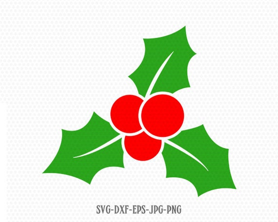 Christmas Holly Silhouette.Christmas Holly Svg Holly Svg Monogram Christmas Svg Cutting File Svg Cricut Files Svg Jpg Png Dxf Silhouette Cameo