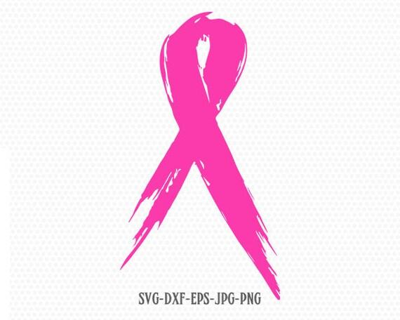 Cancer Ribbon Svg Awareness Ribbon Svg Breast Cancer Ribbon Etsy