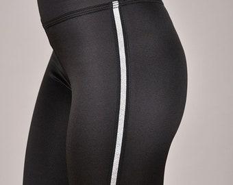 bcf8a68ff8 Squat Proof Leggings, Anti Cellulite leggings, Tummy Control leggings, Tall  leggings, High Rise Leggings, Side Stripe Non See Through Pants