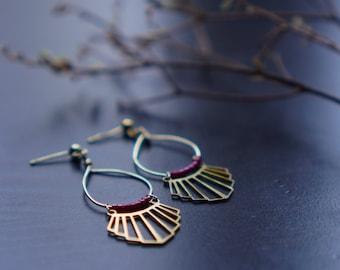 FUCHSIA LIAO earrings