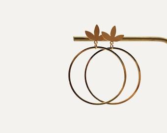 MYRTE hoop earrings