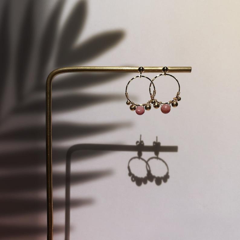 ALTIN PRENSES tiny hoop earrings image 0