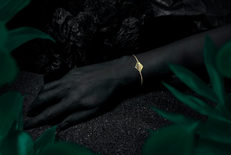 LÉNA bracelet  24k gold coated image 0