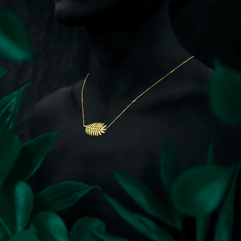 AMAZONE necklace  24k gold coated image 0