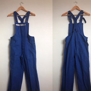 Size S Vintage French Blue Dungarees 70/'s Workwear FD28