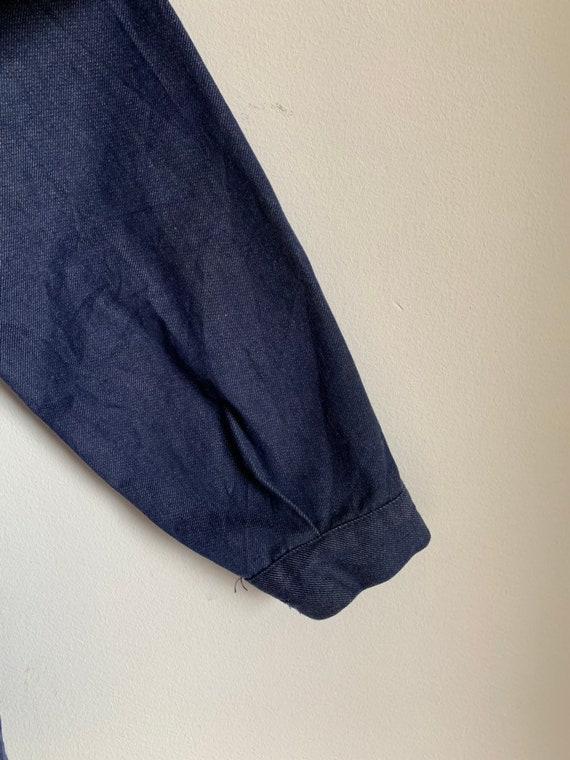 French Workwear, Size L, Vintage Chore Coat, J30 - image 8