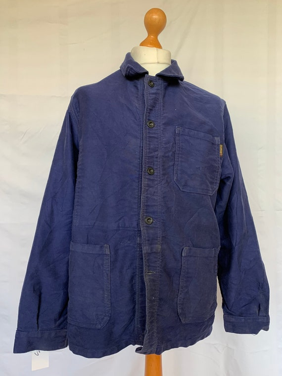French Moleskin Workwear Jacket, Size M, Vintage C