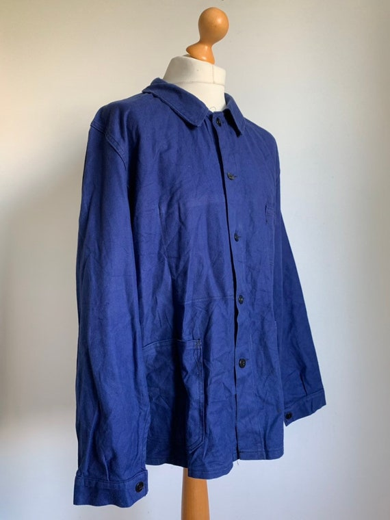 French Workwear Jacket, Size L, Vintage 1960's Ch… - image 2