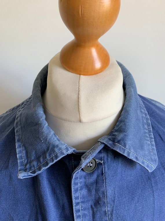 Exceptional French 1950's Workwear Jacket, Size L,