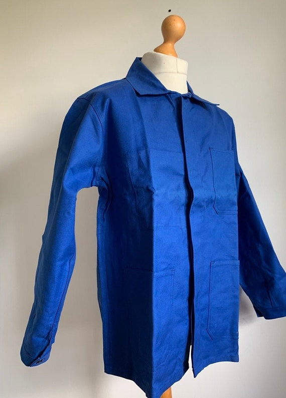 French Work-wear, Size M, Vintage Work Coat, J102