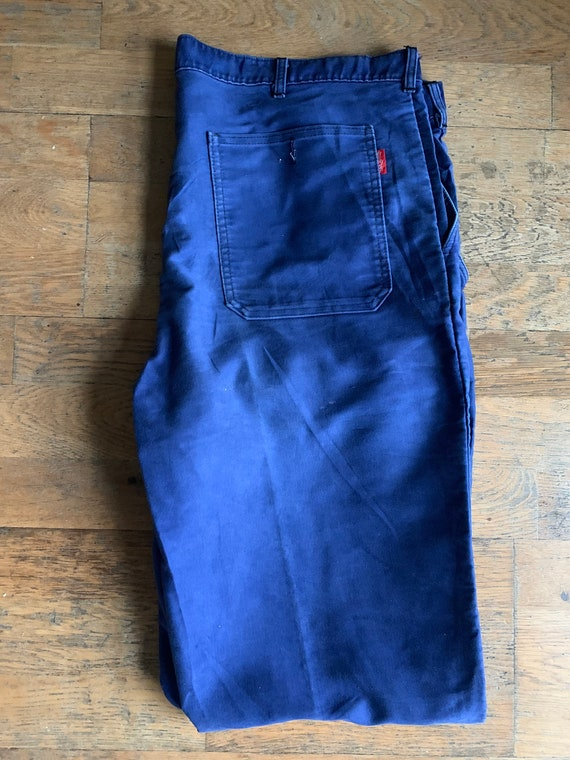 Vintage French workwear trousers , Size W40, LK32 - image 7