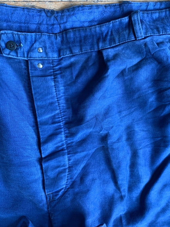 Vintage French workwear trousers , Size W36, - image 2