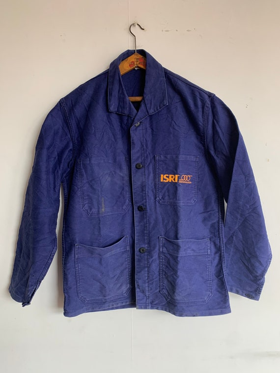 French Workwear Moleskin Jacket, Size M, Vintage C