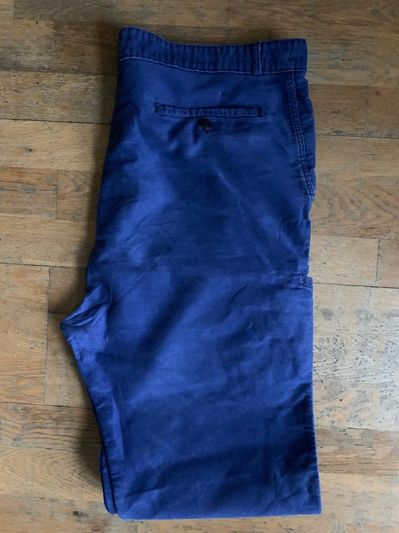 Vintage French workwear trousers , Size W40, LK33 - image 7