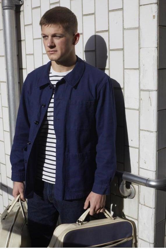 French  1960's Workwear Jacket, Size M, Vintage C… - image 10