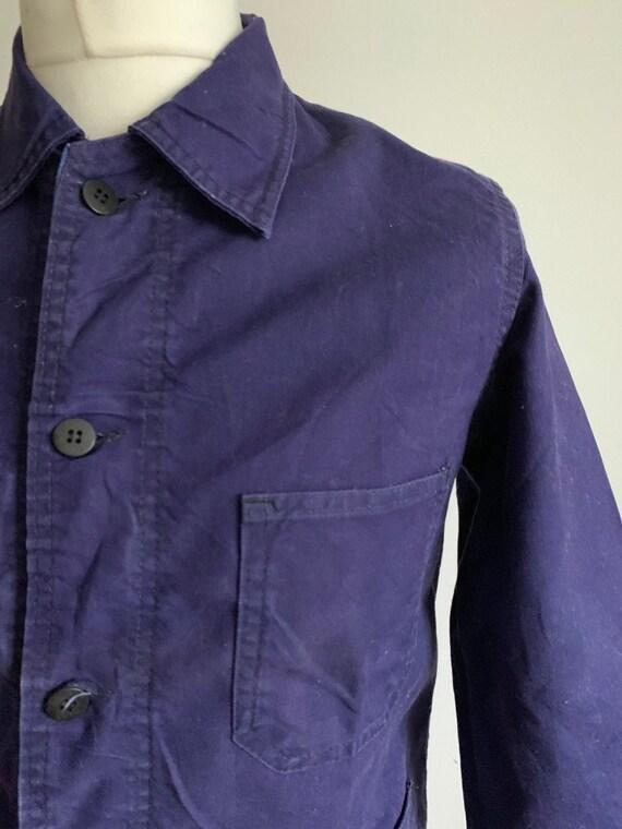 French Workwear Jacket, Size S, Vintage Chore Coat
