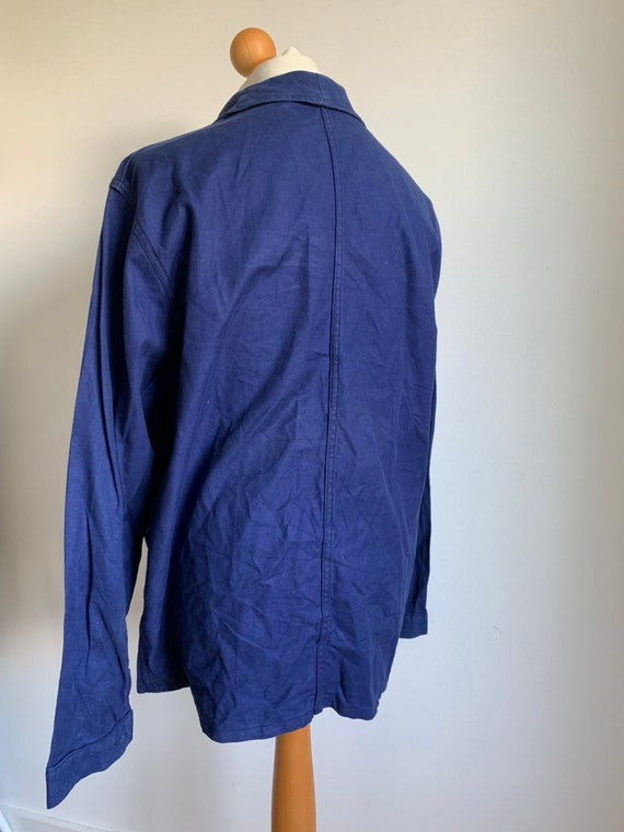 French Workwear Jacket, Size L, Vintage 1960's Ch… - image 3