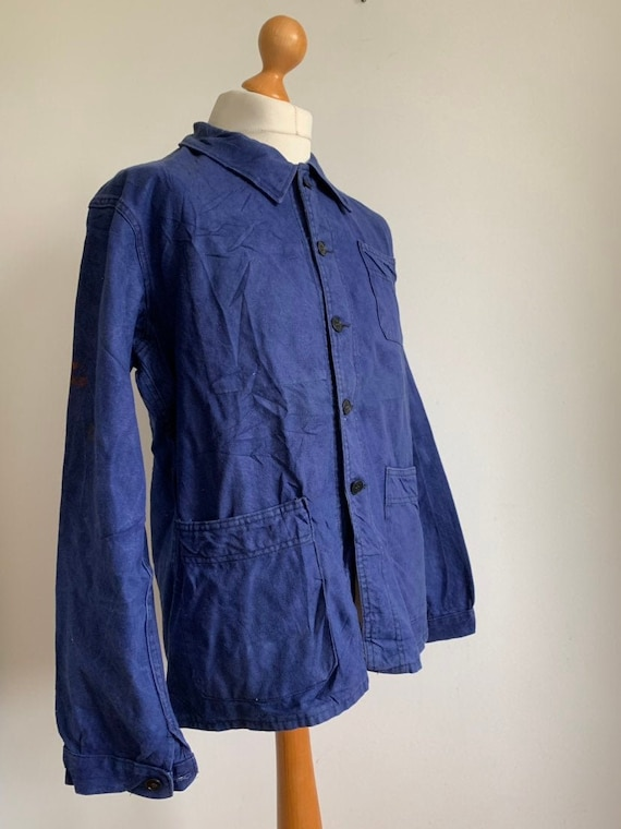 French Workwear, Size L, Vintage Chore Coat, J26