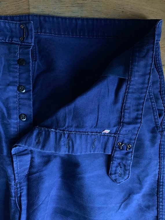 Vintage French workwear trousers , Size W40, LK33 - image 2