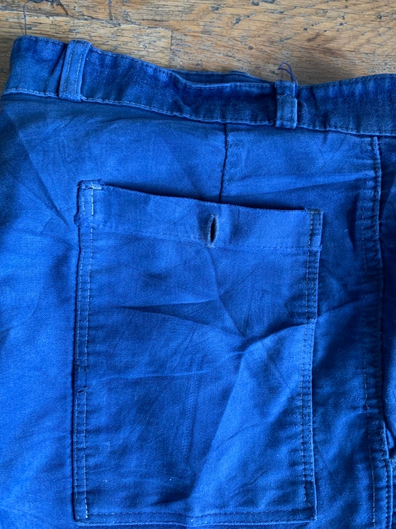 Vintage French workwear trousers , Size W36, - image 7