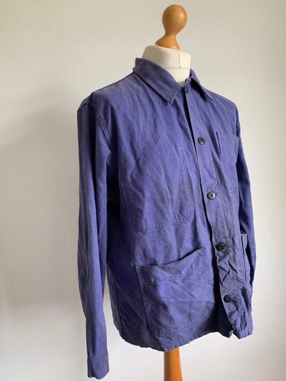 French  1960's Workwear Jacket, Size M, Vintage C… - image 1