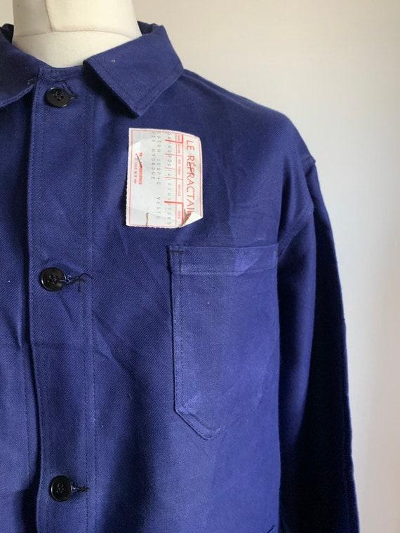 French Work-wear, Size L, Vintage Work Coat, NOS M
