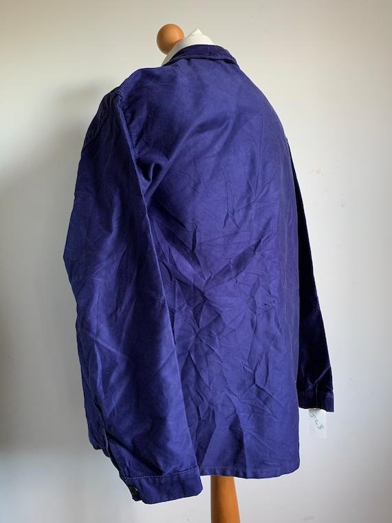 French Workwear, Size L, Vintage 1970's Chore Coa… - image 4