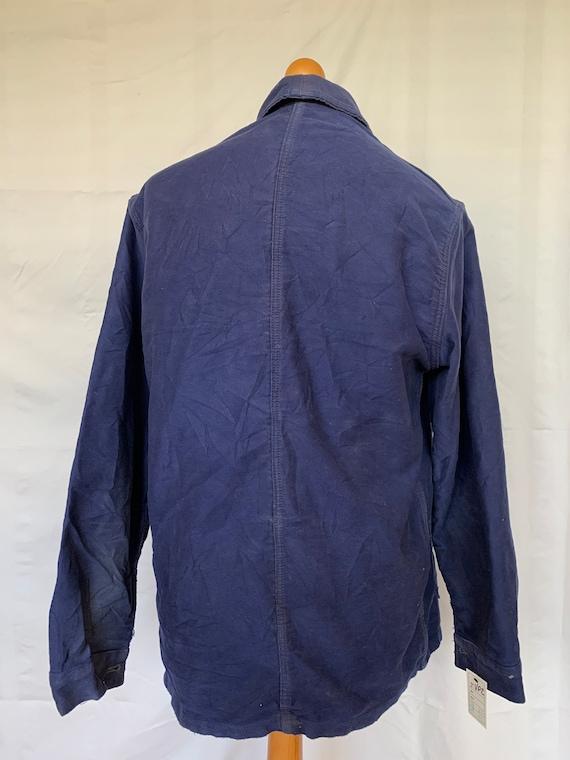 French Moleskin Workwear Jacket, Size M, Vintage … - image 2
