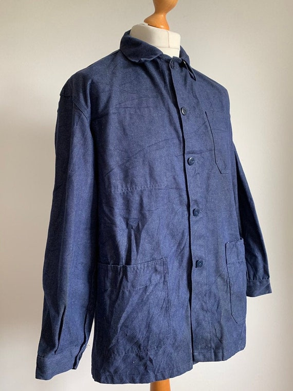 French Workwear, Size L, Vintage Chore Coat, J30