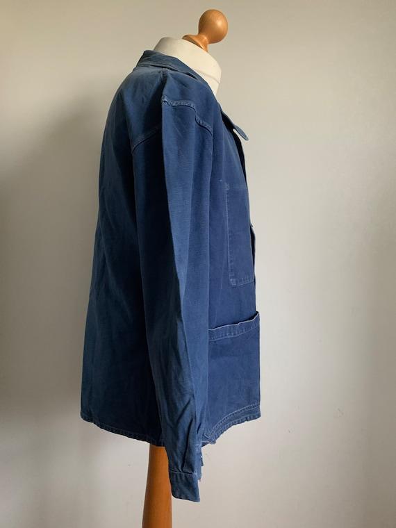 Stunning French Workwear, Size L, Vintage Chore C… - image 6