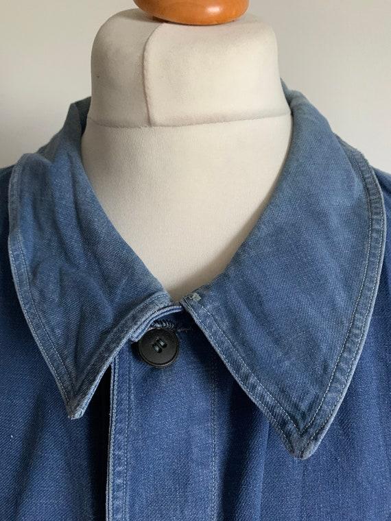 Stunning French Workwear, Size L, Vintage Chore C… - image 2