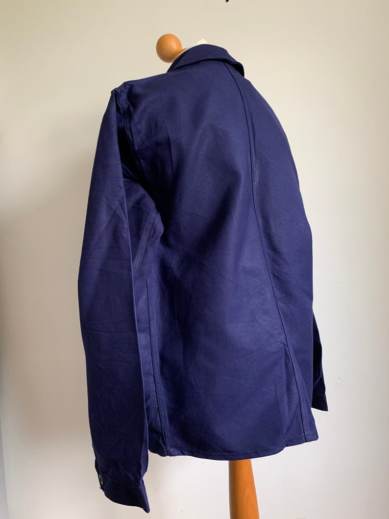 MINT condition Dead-Stock Work-Wear KL14 Size L Vintage French Chore Coat