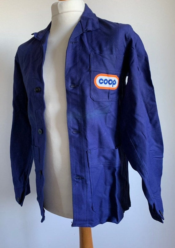 French Workwear Jacket, Size S/M. Vintage Chore Co