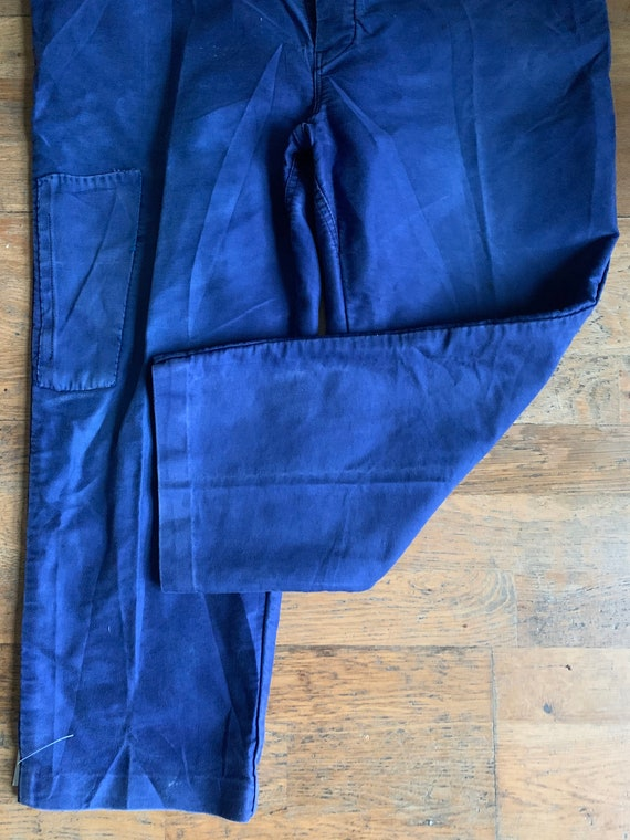Vintage French workwear trousers , Size W40, LK32 - image 8