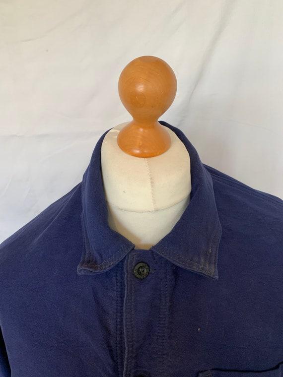 French Moleskin Workwear Jacket, Size M, Vintage … - image 3