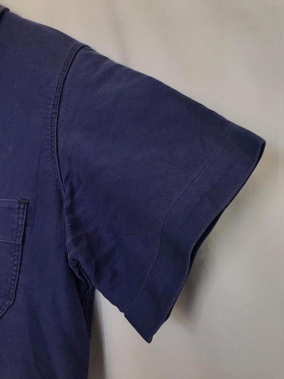 Size M, French Moleskin Workwear Jacket, Vintage … - image 9