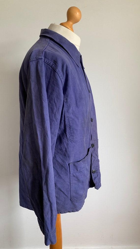 French  1960's Workwear Jacket, Size M, Vintage C… - image 2