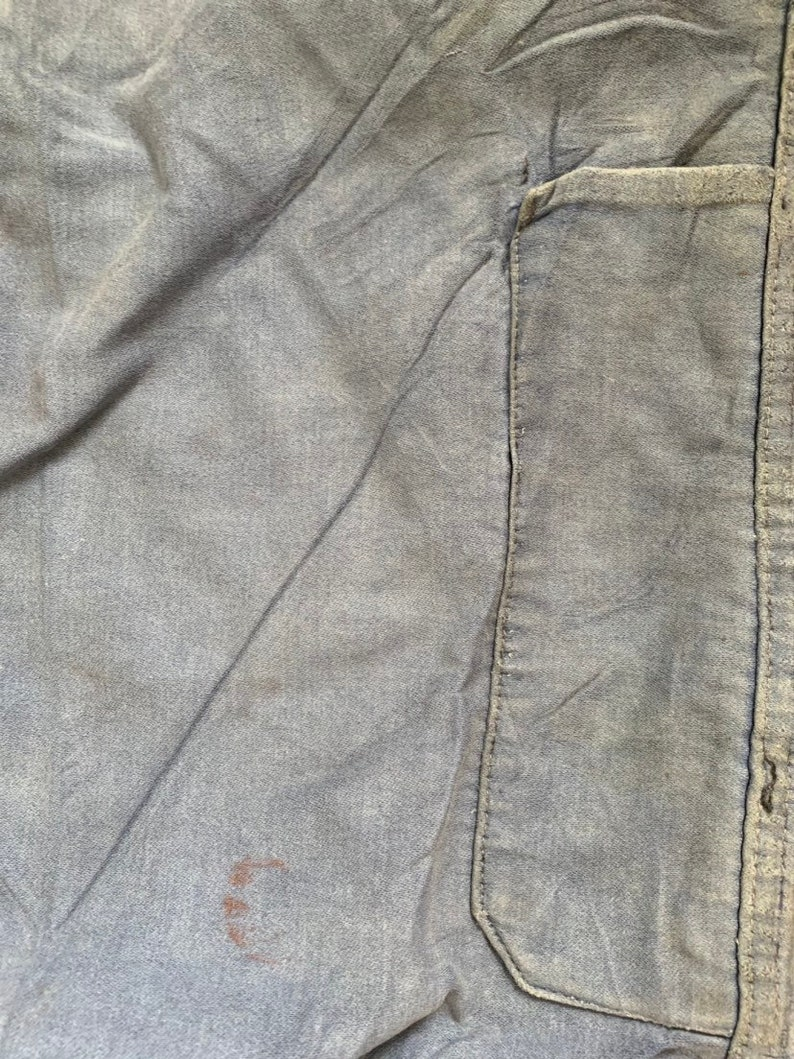 FT6 1950/'s Work-wear trousers Vintage French Pants Size 38 Waist